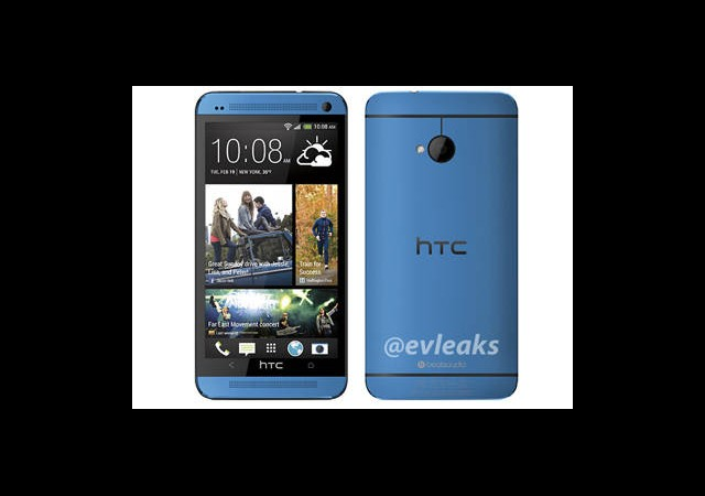 Mavi Renkli HTC One Ortaya Çıktı