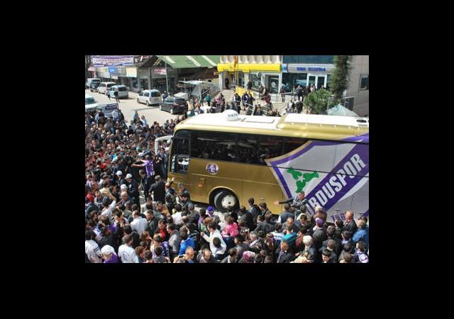 Orduspor'dan Otobüs Jesti