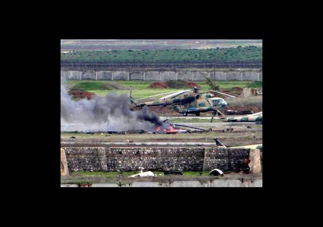 ÖSO Askeri Helikopter Düşürdü!