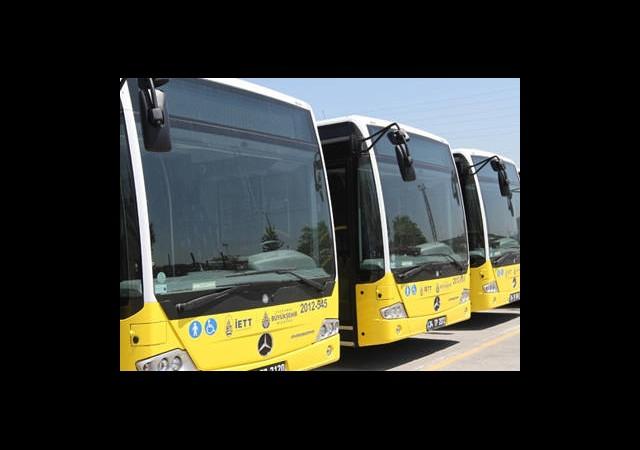 350 Otobüs İstanbul Trafiğine Çıkarsa...