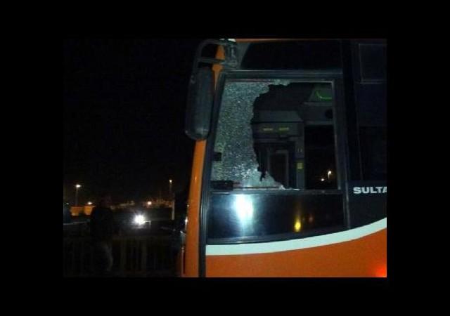 Halk otobüsüne silahlı saldırı!