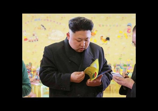 Çocuk kitabı Kim'i terletti