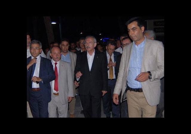 Kılıçdaroğlu'nun gezisinde müzik krizi