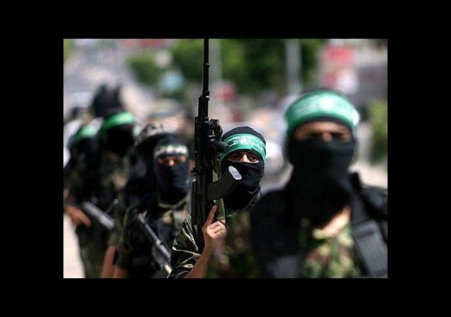 Hamas'tan İsrail'e darbe
