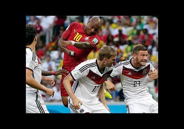 Gana'dan Almanya'ya çelme