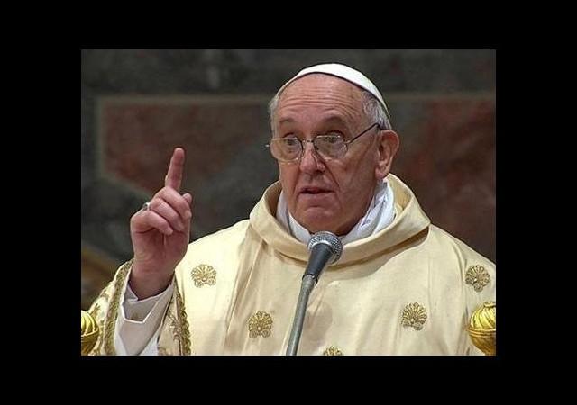 Papa'dan ABD'yi kızdıracak sözler