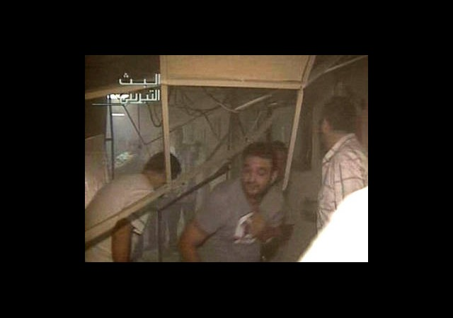Suriye Devlet Televizyonu'nda Patlama