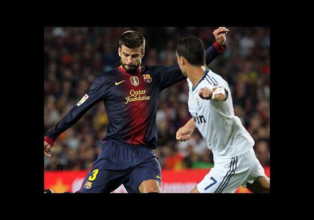 Pique: 'Ronaldo Hayranıyım'