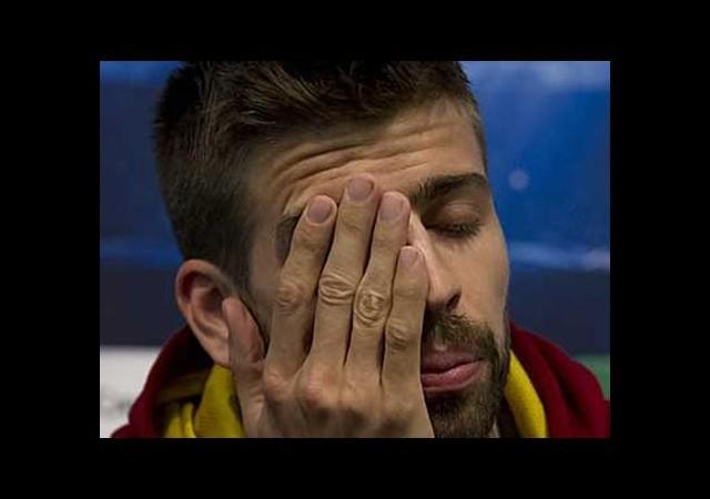 Pique'den Puyol'a ağlatan mektup