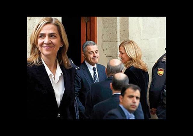 İspanya Prensesi 8 saat ifade verdi