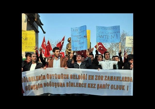 İstanbul Merkezli Operasyonları Protesto