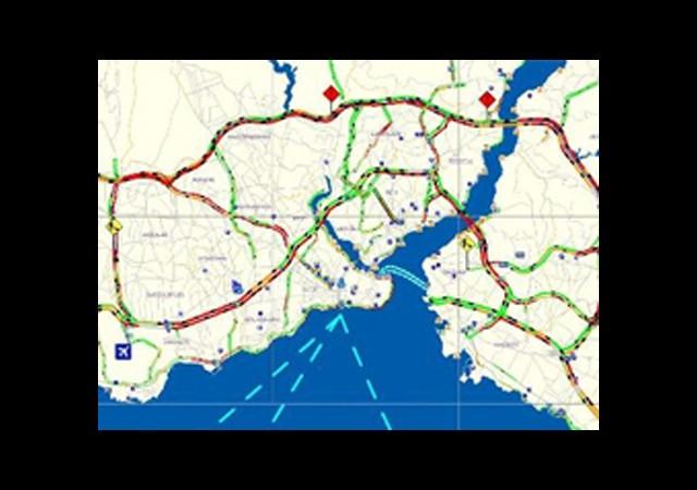 İstanbul'da Trafik Felç!