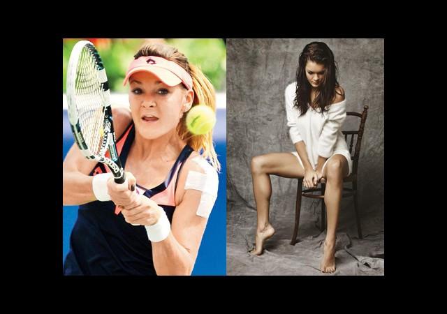 Radwanska Genç Tenisçilerle Buluştu