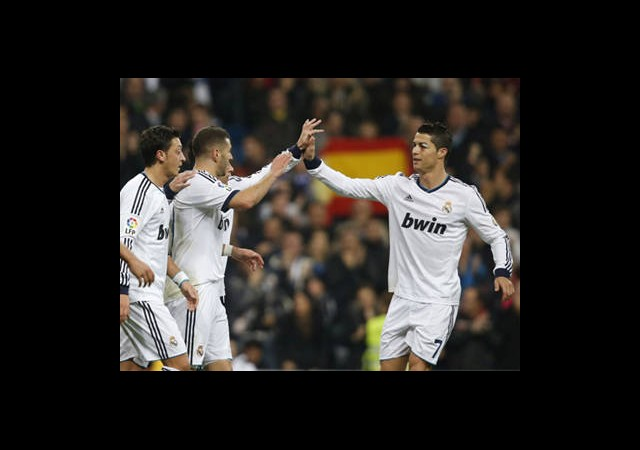 Real Madrid'ten Farklı Galibiyet