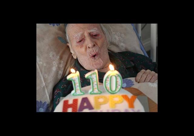 110. Doğum Gününü Kutladı