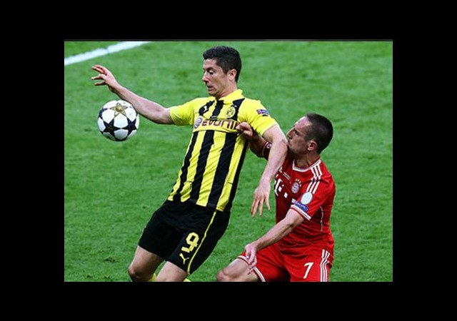 Lewandowski'den Ribery'ye Destek