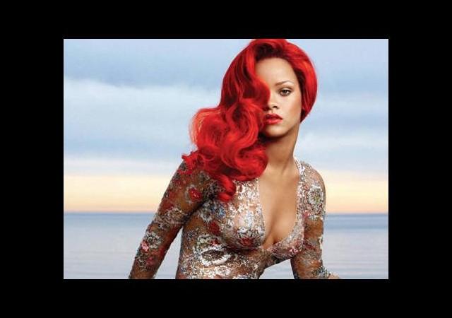 Rihanna'nın gol sevinci olay yarattı