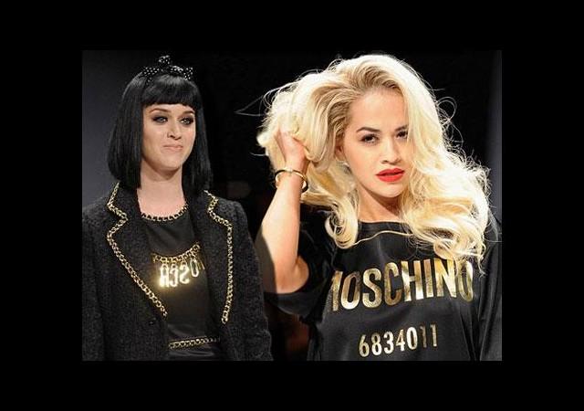 Katy Perry ve Rita Ora podyuma çıkarsa...