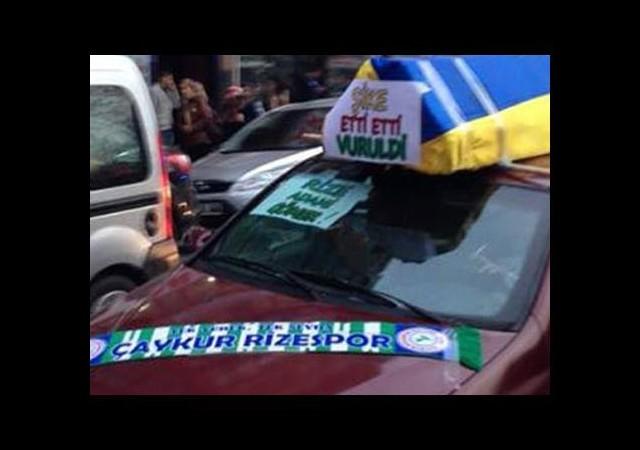 Rize'de Tabutlu Protesto!