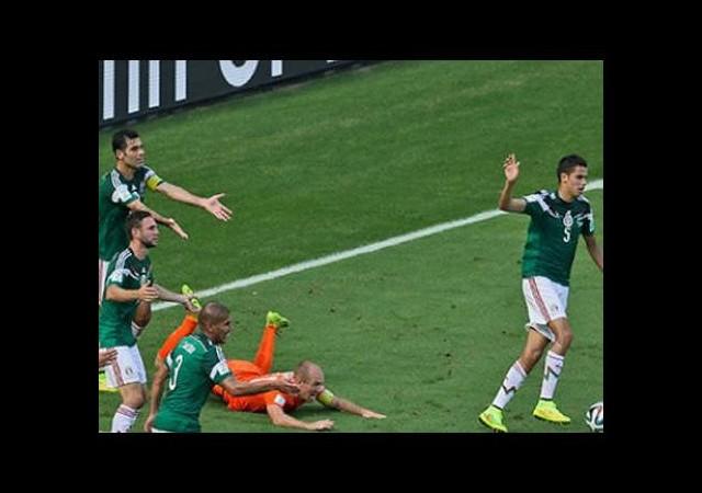 Meksikalılar Robben'e kızgın!