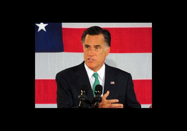 Romney, Resmen Aday