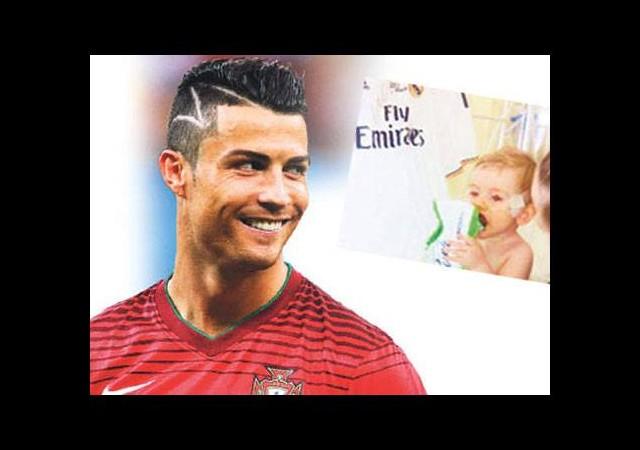 Ronaldo'nun sihirli saçı