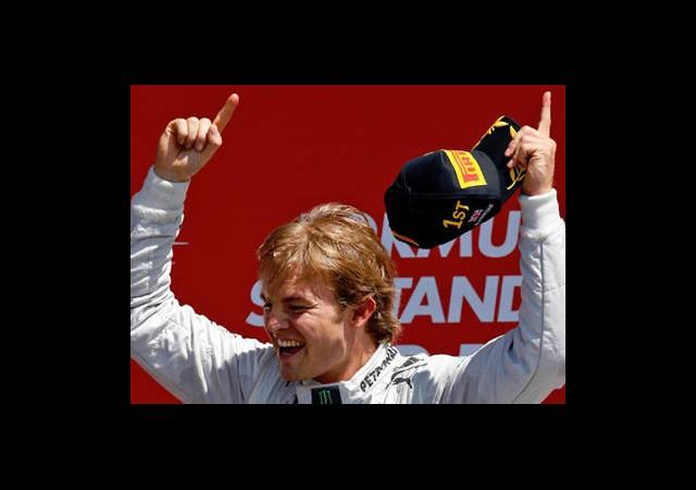 Büyük Britanya Grand Prix'si Rosberg'in