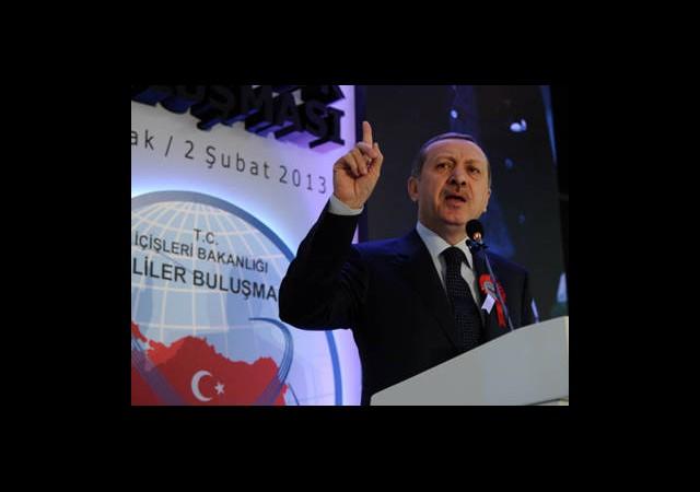 Erdoğan: Artık Devletin Yumruğu Değilsiniz