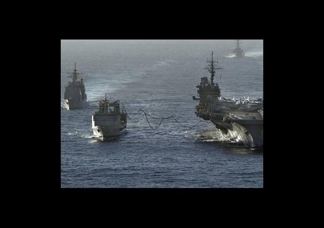 11 Rus Savaş Gemisi Akdeniz'de Buluştu