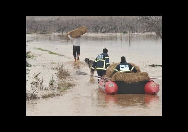 Taşan nehrin faturası ağır oldu!