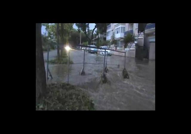 Fırtına Sonrası Salihli Sular Altında Kaldı
