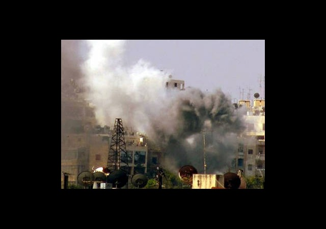 Şam ve Halep Bombardıman Altında