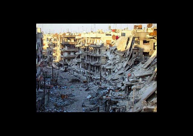 Şam'a Ağır Bombardıman