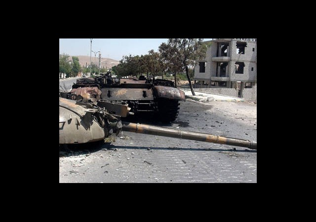 Çatışmalar Şam'da Yoğunlaştı