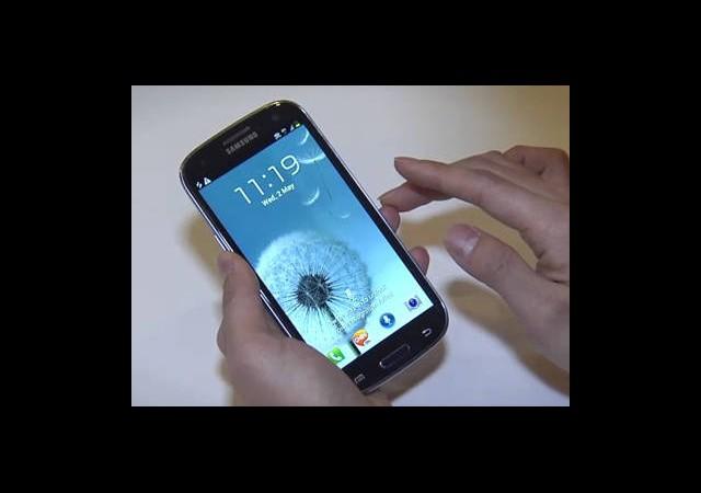 Samsung GALAXY SIII Duyuruldu