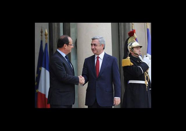 Sarkisyan'dan Fransa'ya: Türklere Ders Verin