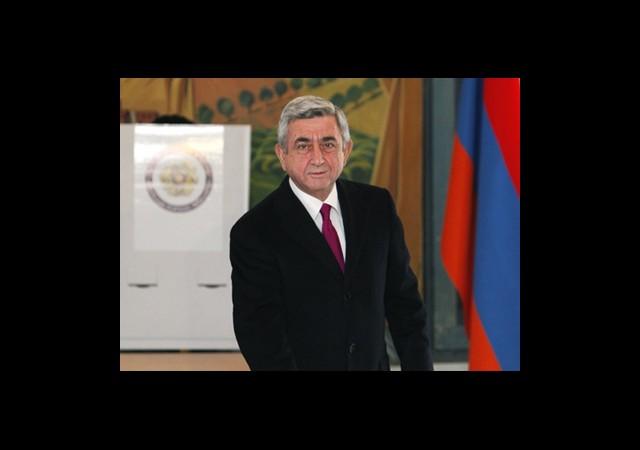 Ermenistan'da Sarkisyan Karşıtları Sokakta