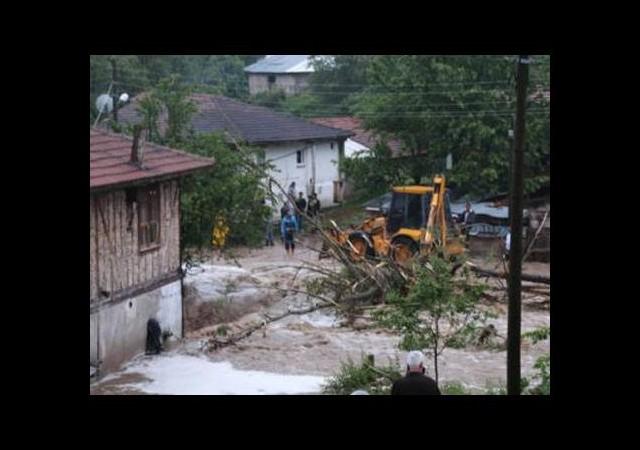 5 köy sular altında kaldı!