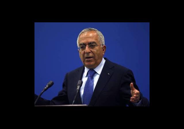 Filistin Başbakanı İstifa Etti!