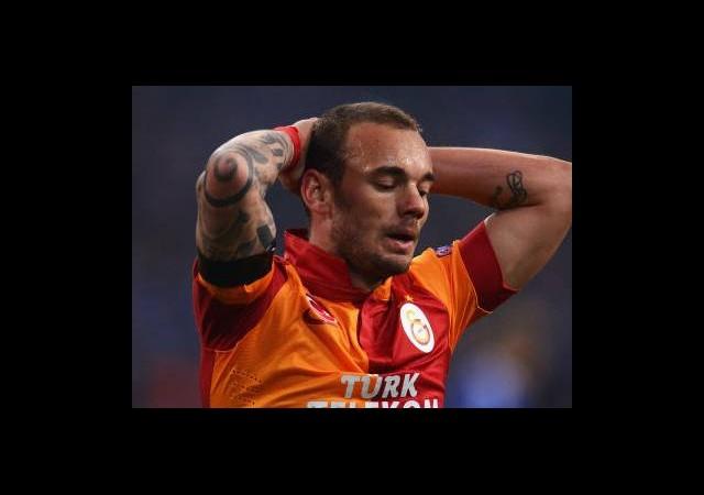 Sneijder'e Büyük Şok