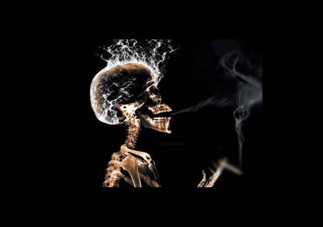 Sigara Beyni Çürütüyor