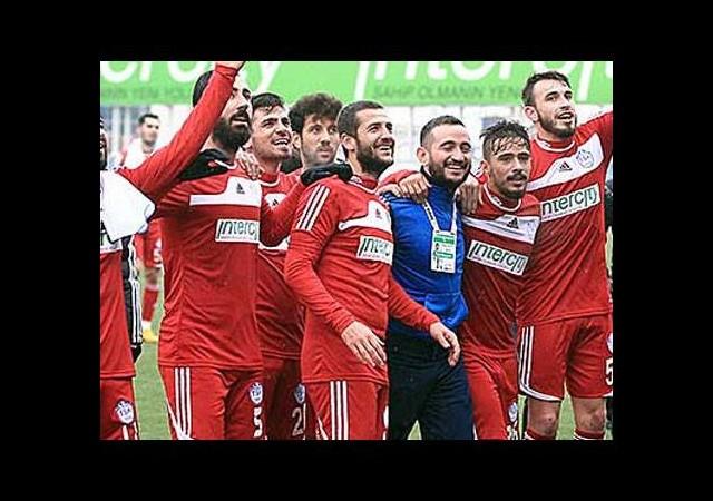 3.Lig ekibi tarih yazdı!