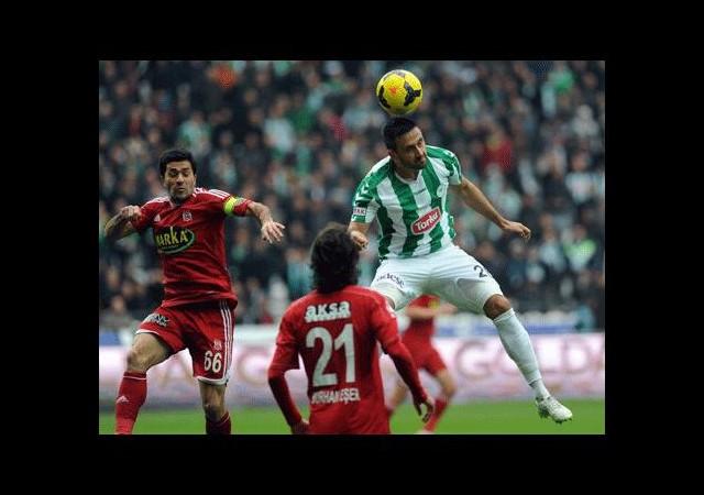 Nefes kesen maç Sivasspor'un