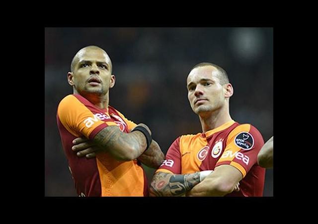 Sneijder Cimbom'a köşeyi döndürdü