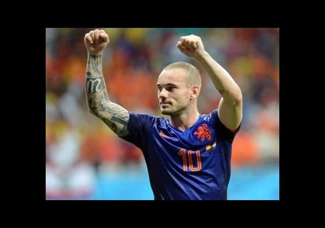 Sneijder'e yakın markaj