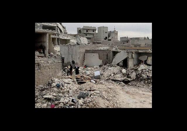 Esed ''misket bombasıyla' vurdu
