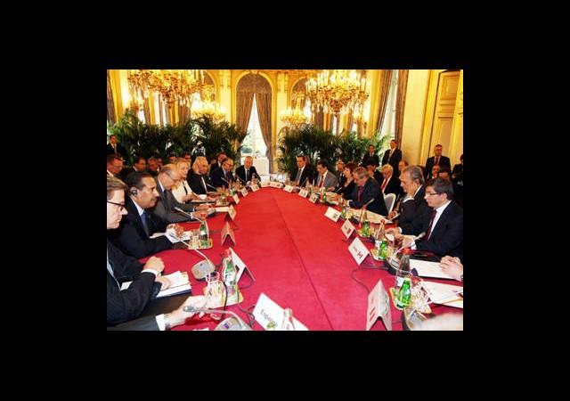 Suriye Halkının Dostları Toplantısı Başladı