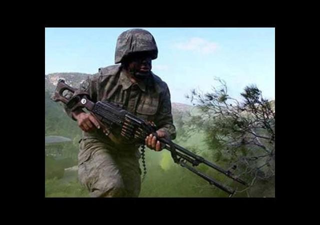 Suriye sınırında askerlere ateş açıldı!
