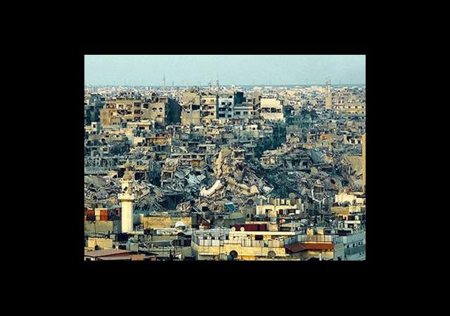 Suriye Enkaza Döndü