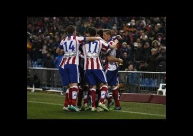 Derbinin ilk ayağında gülen Atletico oldu!